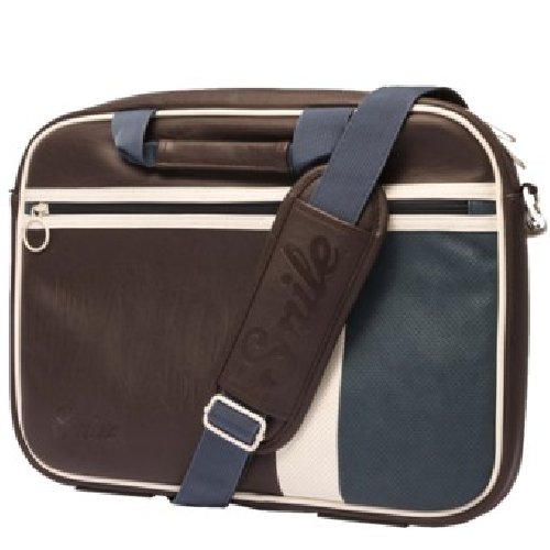 Maletin smile portatil laptop bag vintage