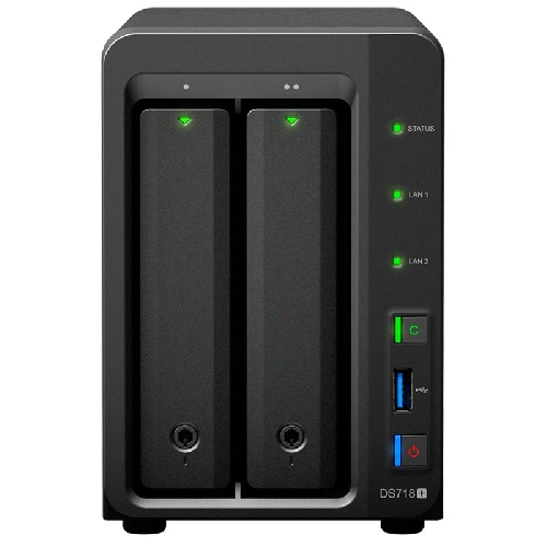 Servidor nas synology disk station ds718+