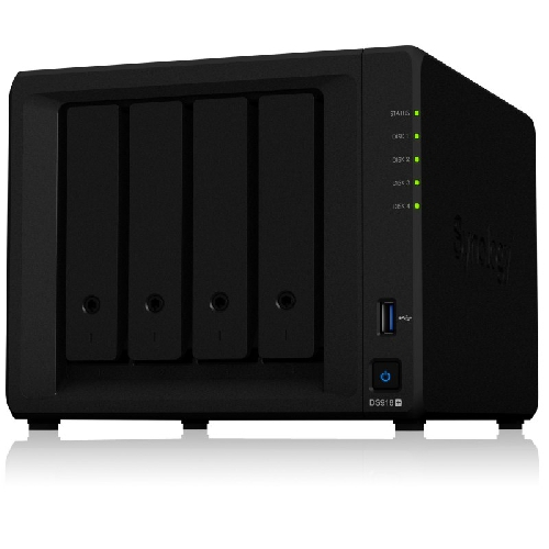 SERVIDOR NAS SYNOLOGY DISK STATION DS918+