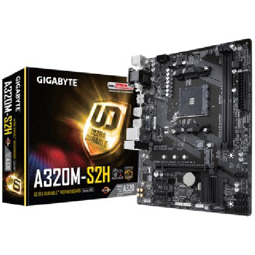 Placa base gigabyte amd a320m - s2h socket