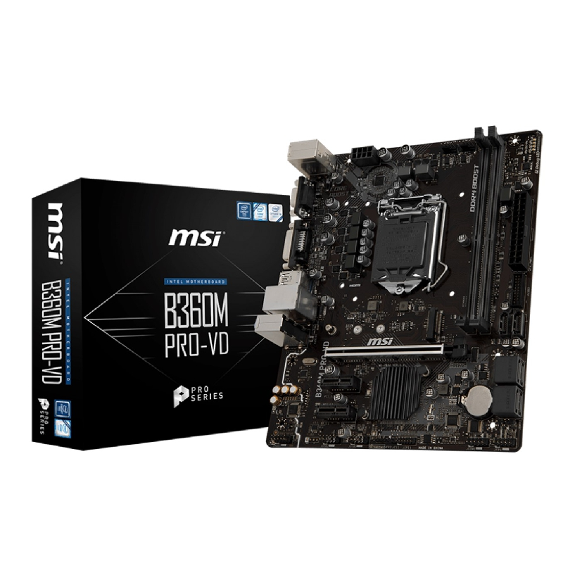 PLACA BASE MSI INTEL B360M PRO-VD
