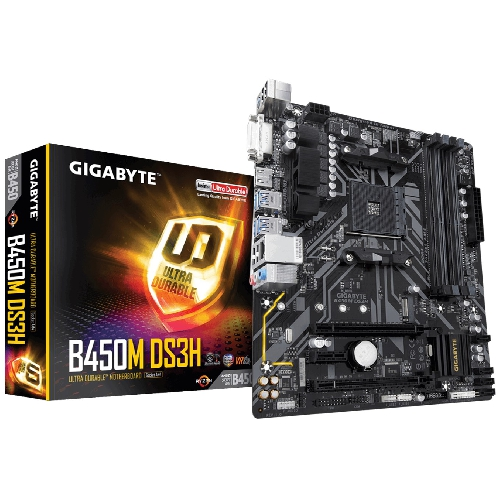PLACA BASE GIGABYTE AMD B450M DS3H