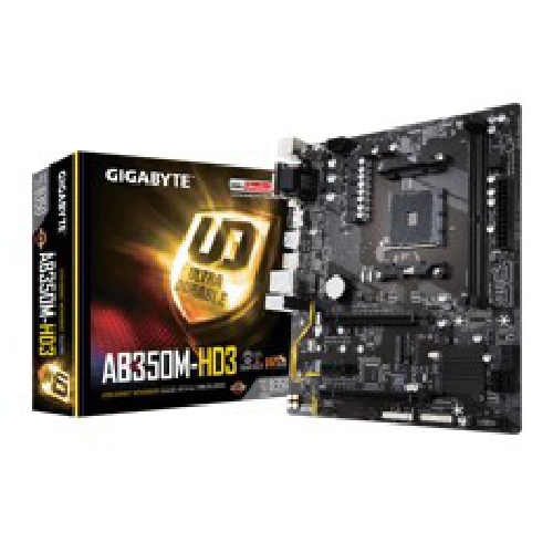 PLACA BASE GIGABYTE AMD AB350M-HD3 DDR4