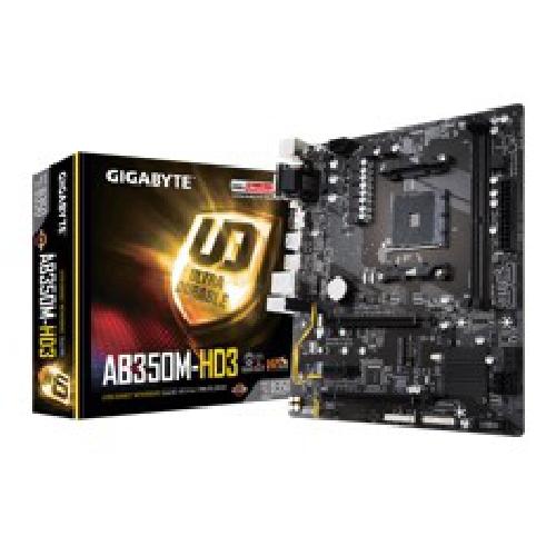 PLACA BASE GIGABYTE AMD AB350M-HD3 DDR4