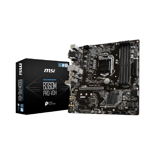 PLACA BASE MSI INTEL B360M PRO-VDH
