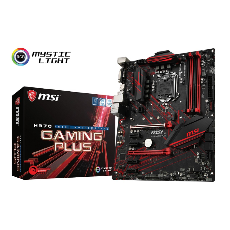 PLACA BASE MSI INTEL H370 GAMING